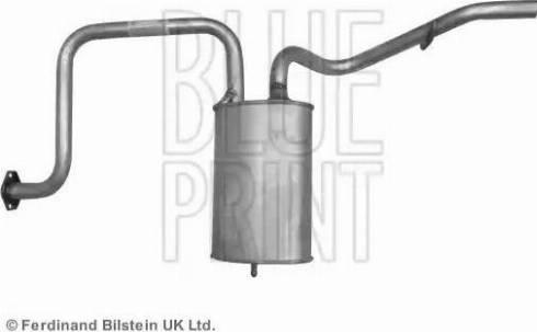 Blue Print ADG06001 - End Silencer uk-carparts.co.uk
