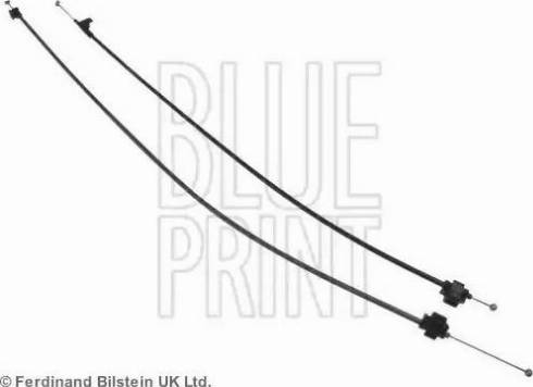 Blue Print ADN19356 - Cable, heater flap uk-carparts.co.uk