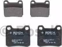 BOSCH 986466871 - Brake Pad Set, disc brake uk-carparts.co.uk