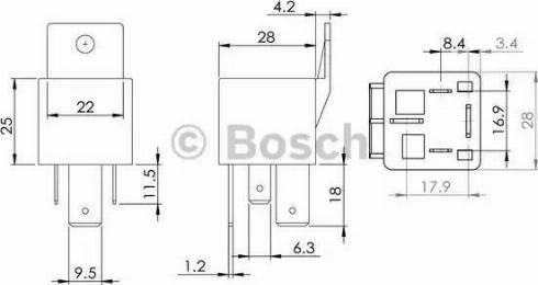 BOSCH 0986AH0080 - Control Unit, glow plug system uk-carparts.co.uk