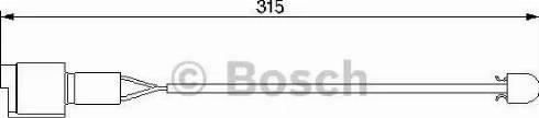 BOSCH 1987474951 - Warning Contact, brake pad wear uk-carparts.co.uk