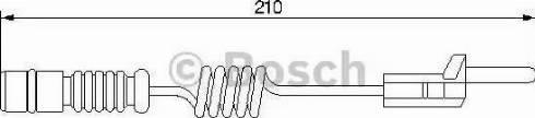 BOSCH 1987474969 - Warning Contact, brake pad wear uk-carparts.co.uk