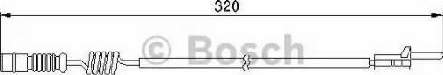BOSCH 1987474964 - Warning Contact, brake pad wear uk-carparts.co.uk