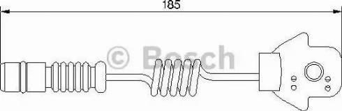 BOSCH 1987474963 - Warning Contact, brake pad wear uk-carparts.co.uk