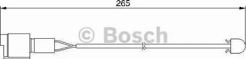 BOSCH 1987474904 - Warning Contact, brake pad wear uk-carparts.co.uk