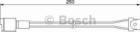 BOSCH 1987474905 - Warning Contact, brake pad wear uk-carparts.co.uk