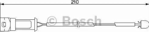 BOSCH 1987474939 - Warning Contact, brake pad wear uk-carparts.co.uk
