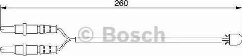 BOSCH 1987474975 - Warning Contact, brake pad wear uk-carparts.co.uk