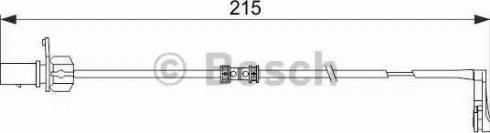 BOSCH 1987474489 - Warning Contact, brake pad wear uk-carparts.co.uk