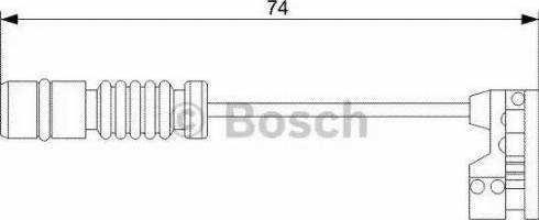 BOSCH 1987473008 - Warning Contact, brake pad wear uk-carparts.co.uk