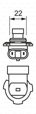 BOSCH 1987302026 - Bulb, headlight uk-carparts.co.uk