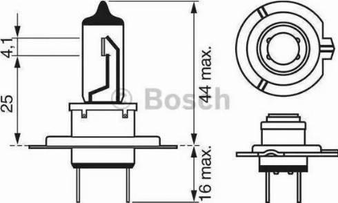 BOSCH 1987302471 - Bulb, headlight uk-carparts.co.uk