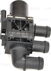 BOSCH 1147412213 - Control Valve, coolant uk-carparts.co.uk