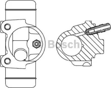 BOSCH F026002096 - Wheel Brake Cylinder uk-carparts.co.uk
