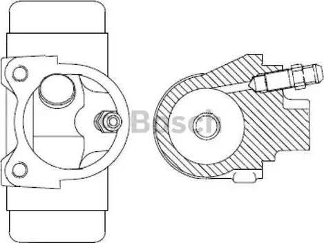 BOSCH F026002038 - Wheel Brake Cylinder uk-carparts.co.uk