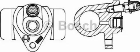 BOSCH F026002366 - Wheel Brake Cylinder uk-carparts.co.uk