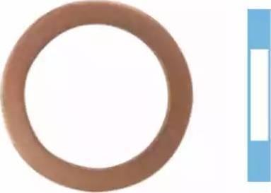 Corteco 005660H - Seal, oil drain plug uk-carparts.co.uk
