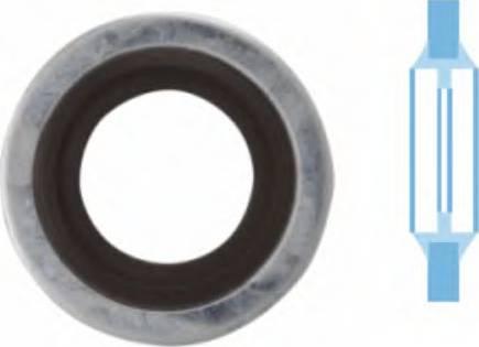Corteco 006337H - Seal, oil drain plug uk-carparts.co.uk