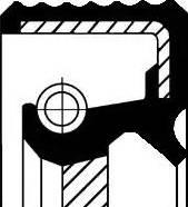 Corteco 01034061B - Shaft Seal, transfer case uk-carparts.co.uk