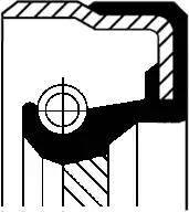 Corteco 01027959B - Shaft Seal, transfer case uk-carparts.co.uk
