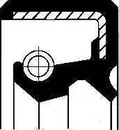 Corteco 01033982B - Shaft Seal, speedometer drive uk-carparts.co.uk