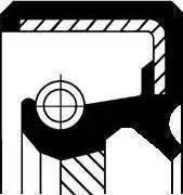 Corteco 19017038B - Shaft Seal, transfer case uk-carparts.co.uk