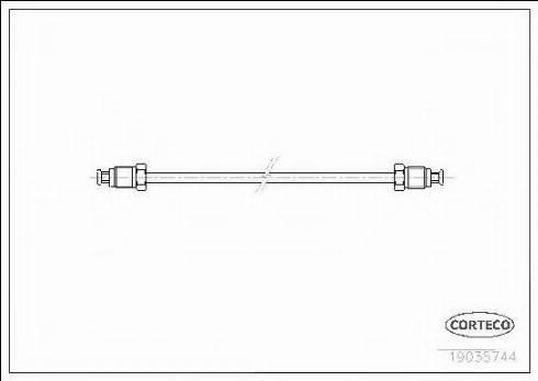 Corteco 19035744 - Brake Lines uk-carparts.co.uk