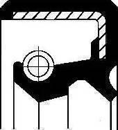Corteco 19017582B - Shaft Seal, transfer case uk-carparts.co.uk