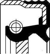Corteco 12014825B - Shaft Seal, transfer case uk-carparts.co.uk