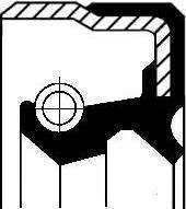 Corteco 01029717B - Sealed Ring, gearshift linkage uk-carparts.co.uk