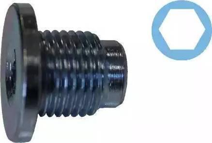 Corteco 407711H - Seal, oil drain plug uk-carparts.co.uk