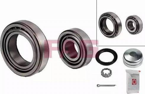 FAG 713610240 - Wheel hub, bearing Kit uk-carparts.co.uk