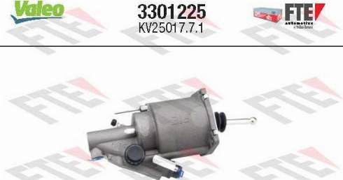 FTE 3301225 - Clutch Booster uk-carparts.co.uk