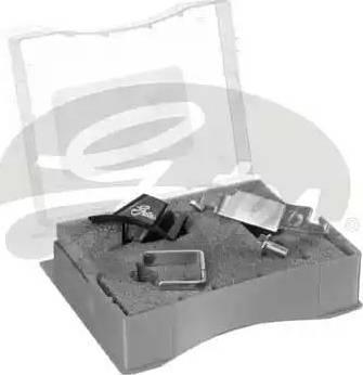 Gates SFT007 - Mounting Tools, v-ribbed belt uk-carparts.co.uk