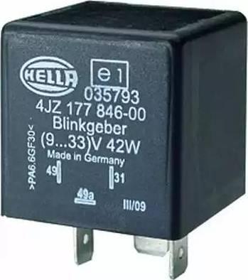 HELLA 4JZ177846-007 - Flasher Unit uk-carparts.co.uk