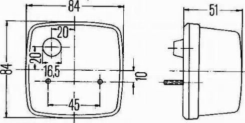 HELLA 2BE003014-251 - Indicator uk-carparts.co.uk