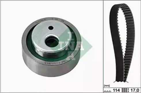 INA 530025810 - Timing Belt Set uk-carparts.co.uk