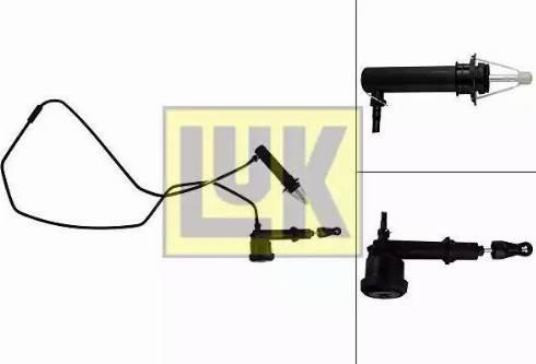LUK 513006610 - Master / Slave Cylinder Kit, clutch uk-carparts.co.uk