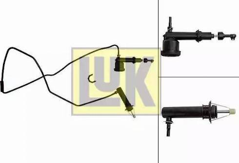 LUK 513003010 - Master / Slave Cylinder Kit, clutch uk-carparts.co.uk