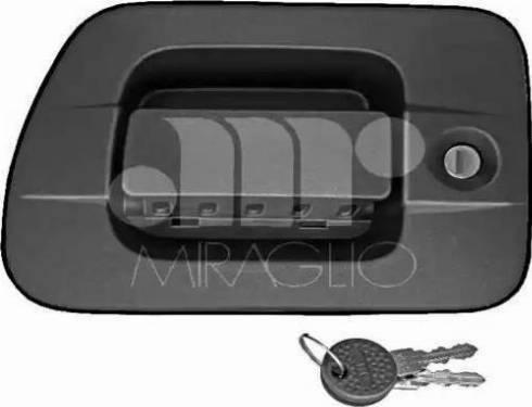Miraglio 80/494 - Door Handle uk-carparts.co.uk