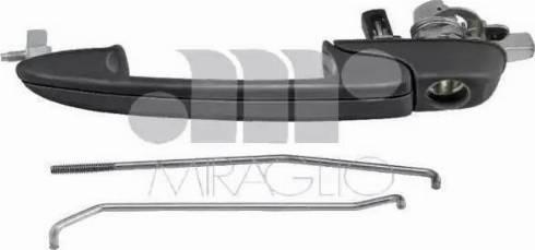 Miraglio 80/402 - Door Handle uk-carparts.co.uk