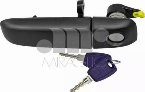 Miraglio 80/488SC - Door Handle uk-carparts.co.uk