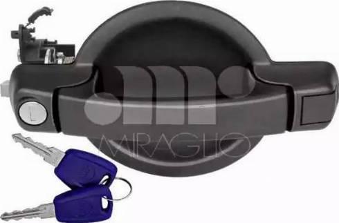Miraglio 80/503SC - Door Handle uk-carparts.co.uk