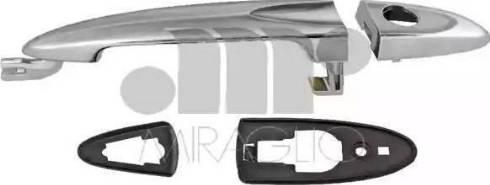 Miraglio 80/523 - Door Handle uk-carparts.co.uk