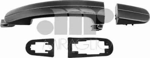 Miraglio 80/579 - Door Handle uk-carparts.co.uk