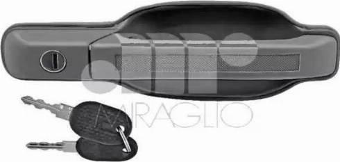 Miraglio 80/406 - Door Handle uk-carparts.co.uk