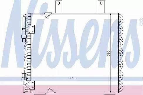 Nissens 94172 - Condenser, air conditioning uk-carparts.co.uk
