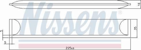 Nissens 95608 - Dryer, air conditioning uk-carparts.co.uk