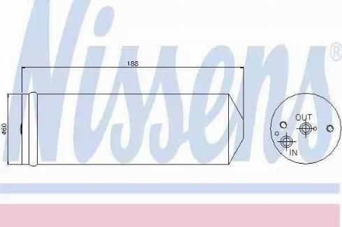 Nissens 95065 - Dryer, air conditioning uk-carparts.co.uk