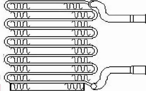 Nissens 92017 - Evaporator, air conditioning uk-carparts.co.uk